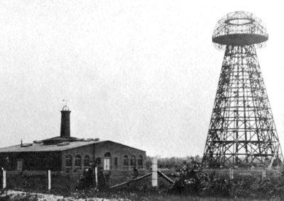 Tour Wardenclyffe de Tesla (1904)