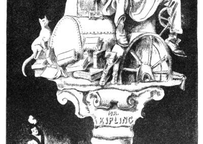 Kipling Caricature