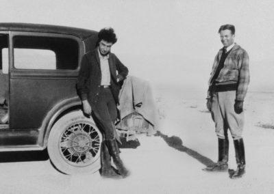 Oppenheimer et Lawrence en 1931